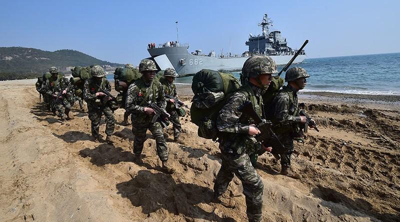 Mỹ - Hàn tập trận mô phỏng tấn công phủ đầu Triều Tiên - ảnh 2