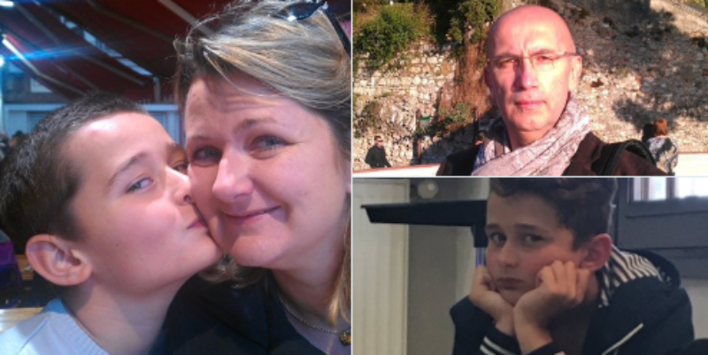 Các gia đình đưa ảnh người thân  mất liên lạc lên mạng Twitter tìm kiếm thông tin.