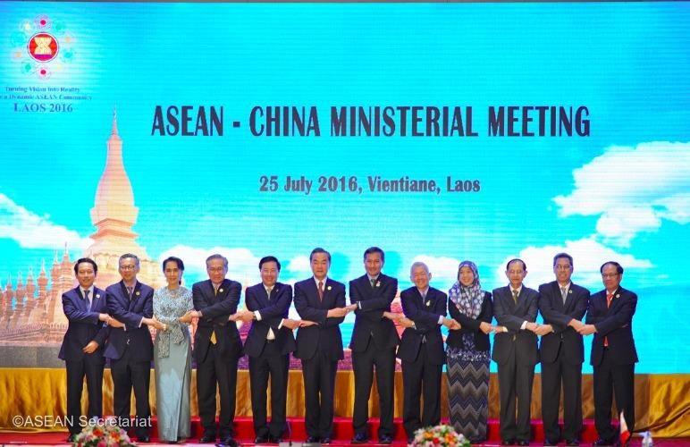 ASEAN ra tuyên bố chung đề cập vấn đề biển Đông - ảnh 1