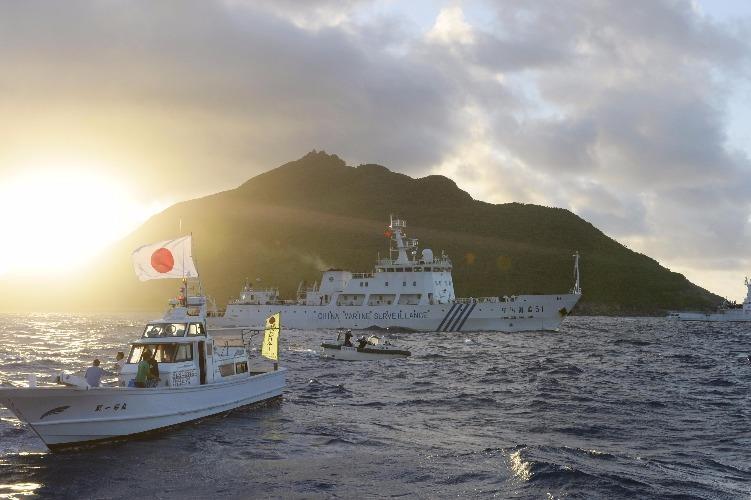 Tàu hải cảnh Trung Quốc di chuyển gần đảo Senkaku