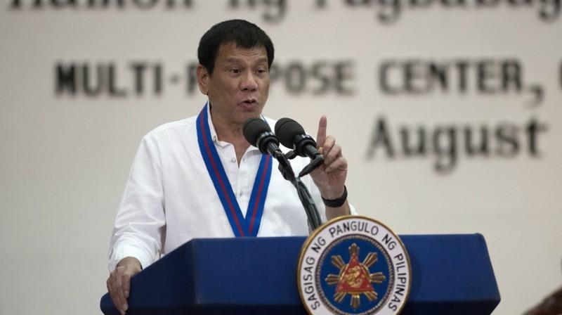 Tổng thống Philippines Rodrigo Duterte. Ảnh: Aljazeera