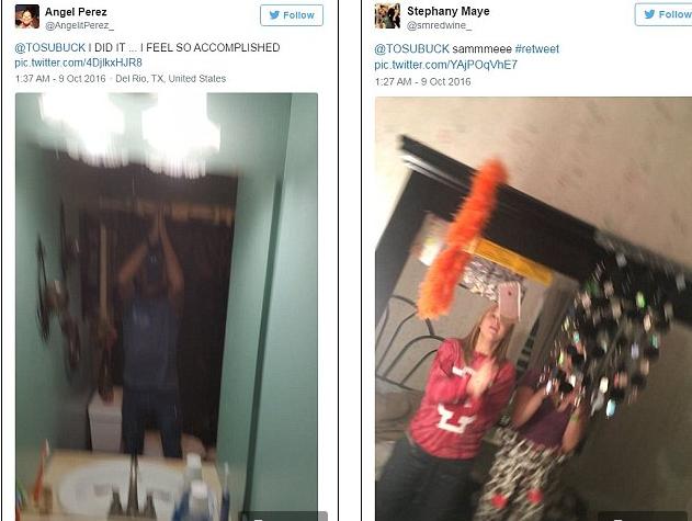 Rộ trào lưu selfie khó đỡ, quăng điện thoại lên trời