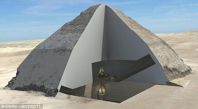 Phát hiện hai mật thất 4.500 năm tuổi trong Kim Tự Tháp