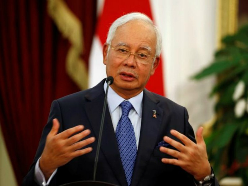Thủ tướng Malaysia đến Trung Quốc mua tàu tuần tra - ảnh 1