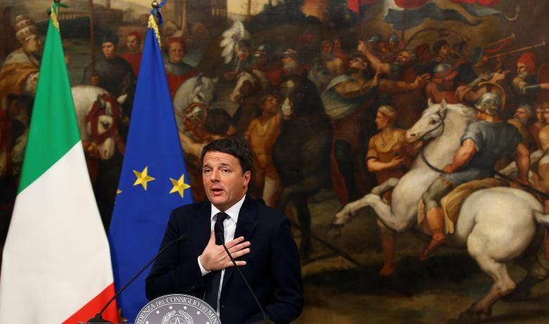 Thủ tướng Ý từ chức sau thất bại cay đắng - ảnh 1