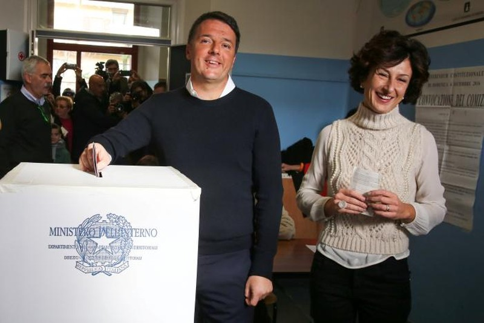 Thủ tướng Ý từ chức sau thất bại cay đắng - ảnh 2