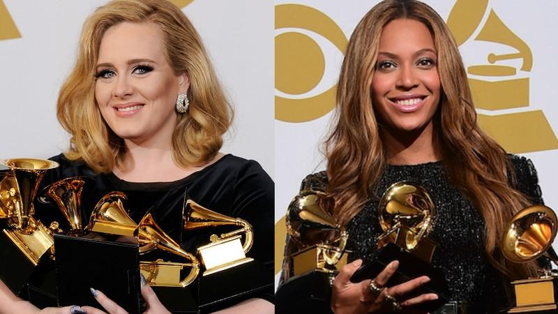 Grammy 2017: Cuộc chiến giữa Adele và Beyoncé - ảnh 1