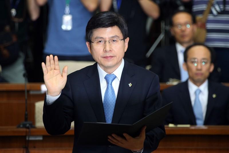 Bà Park Geun-hye giao quyền lực tạm thời cho thủ tướng - ảnh 1
