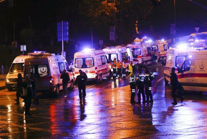 Đánh bom kép giữa Istanbul, 29 người thiệt mạng - ảnh 6
