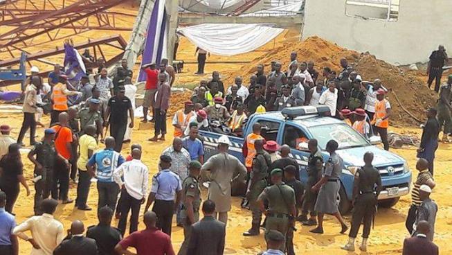 Sập nhà thờ ở Nigeria, 60 người thiệt mạng - ảnh 2