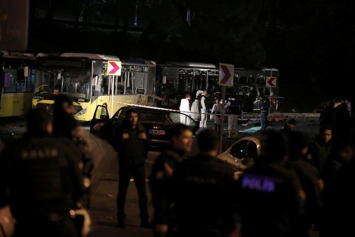 Đánh bom kép giữa Istanbul, 29 người thiệt mạng - ảnh 4