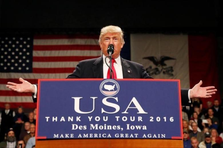 Ông Trump mỉa mai cáo buộc Nga giúp ông thắng cử - ảnh 1