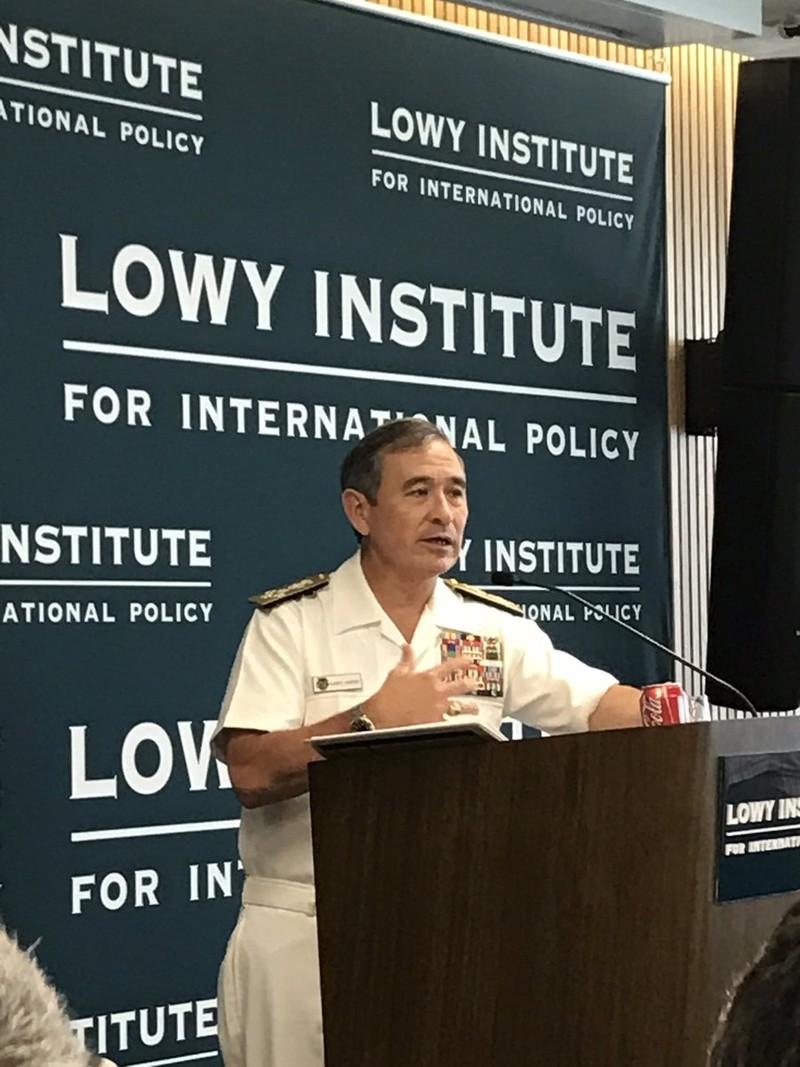Đô đốc Harry Harris: Mỹ sẵn sàng đối đầu tại biển Đông - ảnh 2