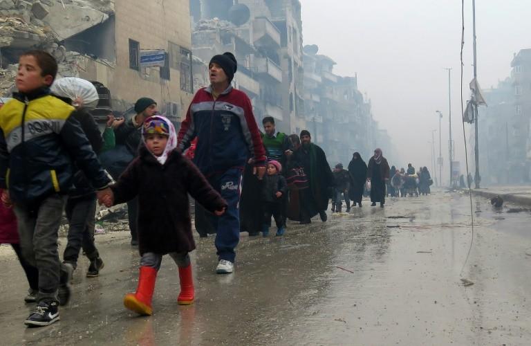 Hậu chiến sự Aleppo: Nga tố Anh dùng thông tin bịa đặt
