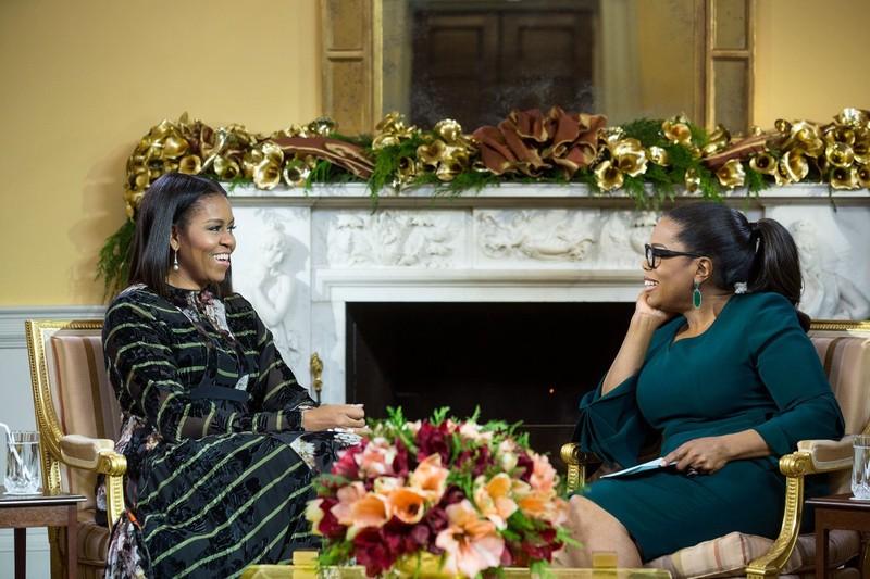 Bà Michelle Obama tiết lộ lý do giúp đỡ ông Trump - ảnh 1