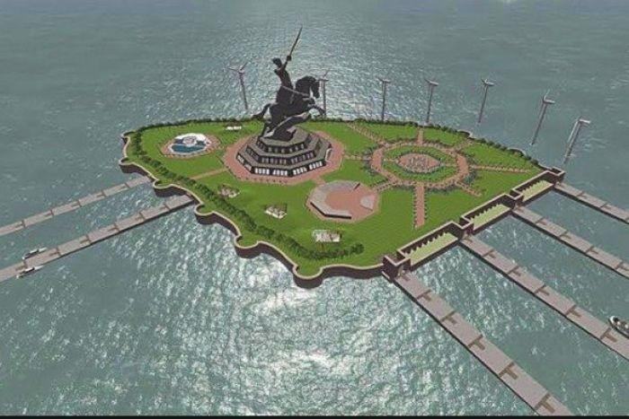 Ấn Độ xây tượng đài cao nhất thế giới - ảnh 1