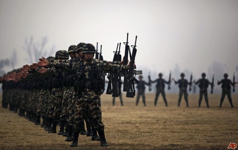 Trung Quốc lần đầu tổ chức tập trận chung với Nepal - ảnh 1