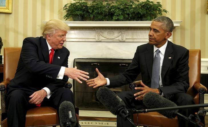 Trump chỉ trích Obama cản trở chuyển giao quyền lực - ảnh 1