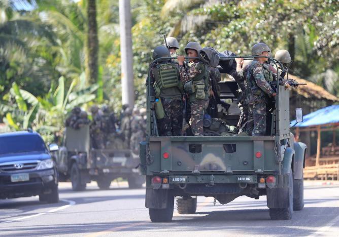 Ba mũi tiến công tái chiếm TP Philippines từ khủng bố - ảnh 5