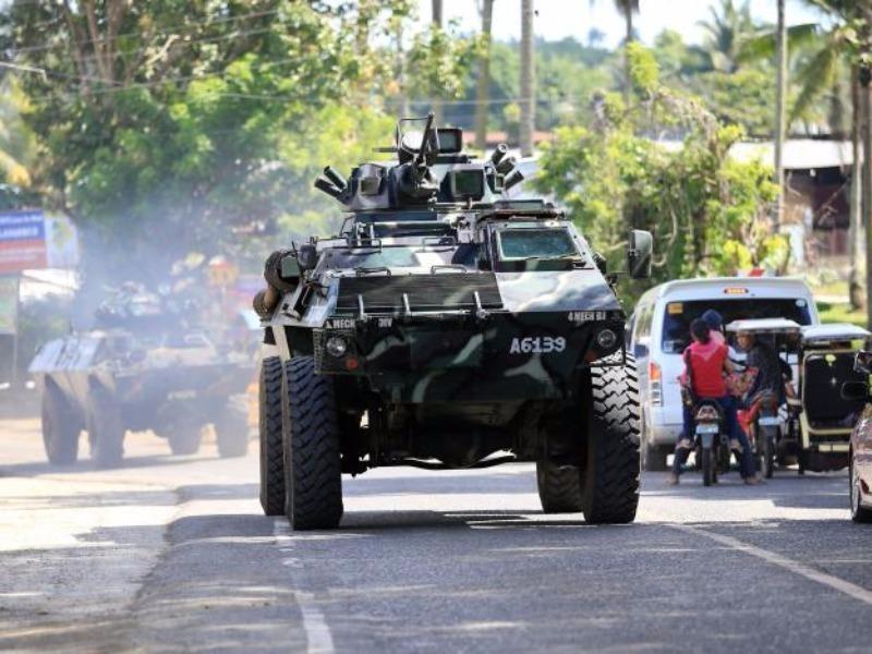 Ba mũi tiến công tái chiếm TP Philippines từ khủng bố - ảnh 1
