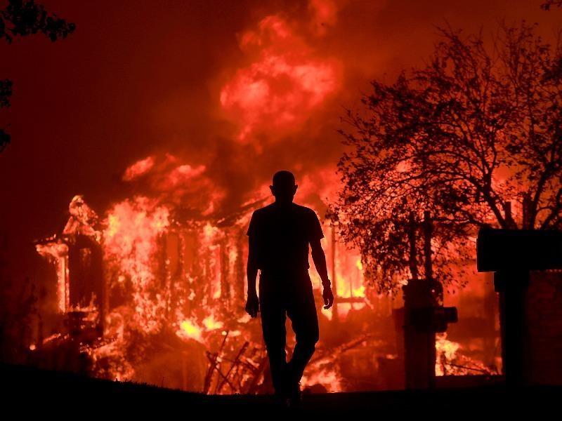 Cháy rừng California: Tình trạng khẩn cấp ở quận Cam - ảnh 1