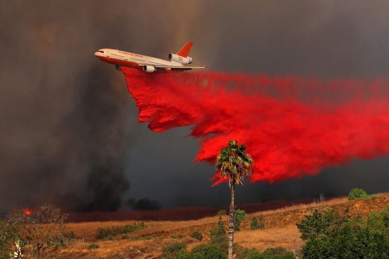 Cháy rừng California: Tình trạng khẩn cấp ở quận Cam - ảnh 2