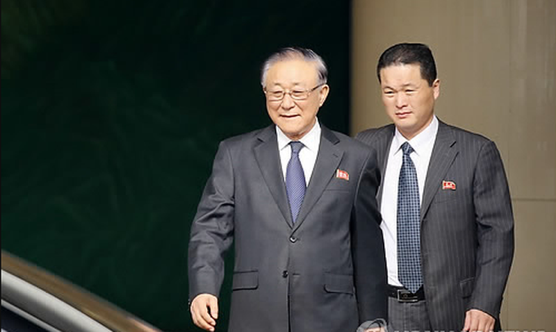 Đặc phái viên cấp cao của Trung Quốc đến Triều Tiên - ảnh 1