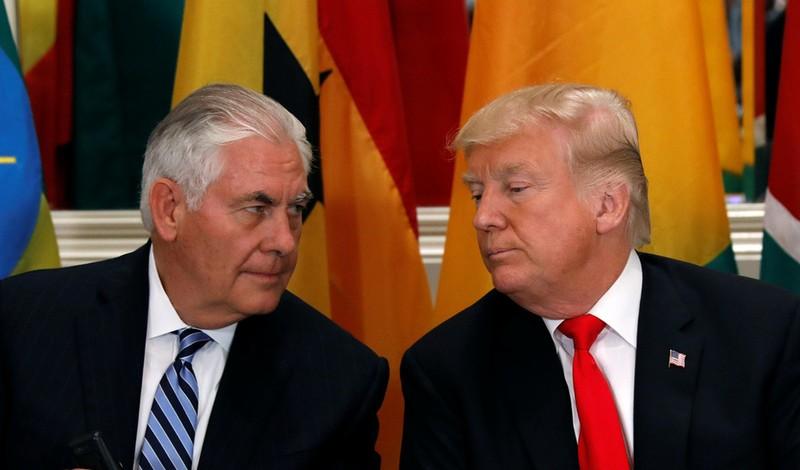 Ông Trump sa thải Ngoại trưởng Rex Tillerson - ảnh 1