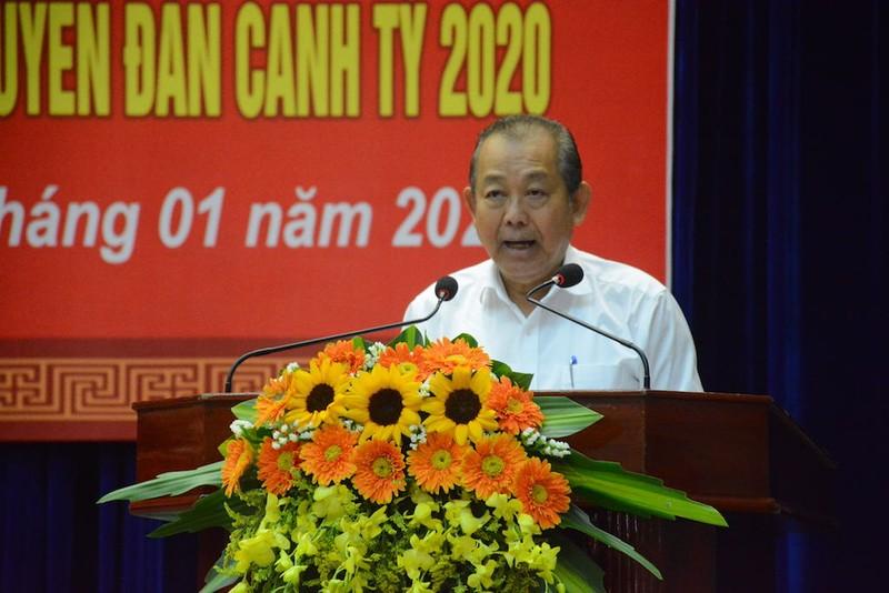 Phó thủ tướng Trương Hoà Bình trao quà Tết cho dân ở Quảng Nam - ảnh 2