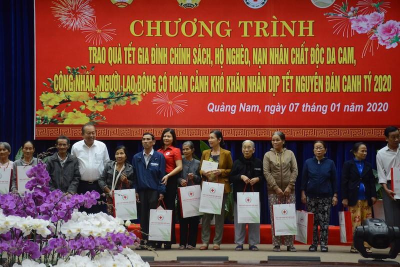 Phó thủ tướng Trương Hoà Bình trao quà Tết cho dân ở Quảng Nam - ảnh 3