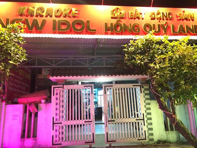 14 người phê ma túy ở quán karaoke New Idol Quảng Nam - ảnh 1