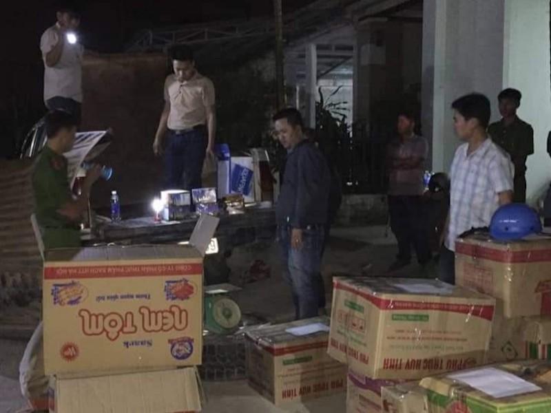 Quảng Nam: Bắt 3 người vận chuyển gần 400 kg pháo lậu - ảnh 1