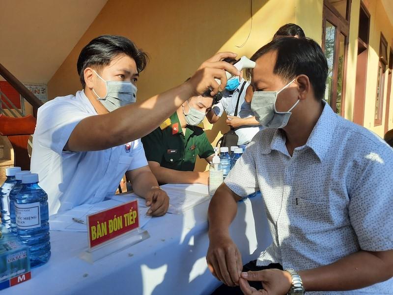 Quảng Nam: Thêm 56 mẫu xét nghiệm âm tính COVID-19 - ảnh 1