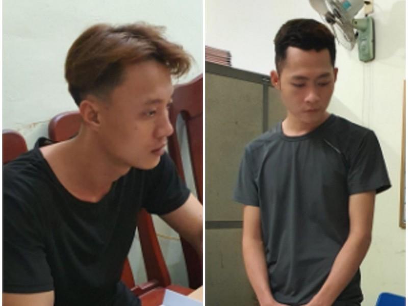 Công an Quảng Ngãi bắt 2 kẻ cướp ngân hàng tại Quảng Nam - ảnh 1