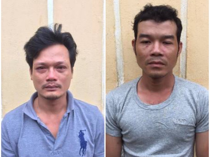 2 người say hối hận sau khi đánh công an ở chốt kiểm dịch - ảnh 1