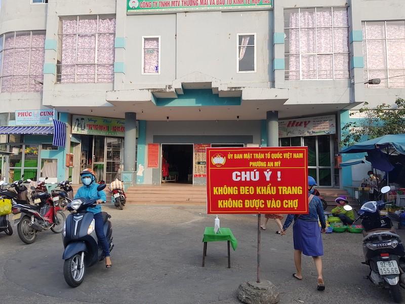 Quảng Nam lấy mẫu xét nghiệm COVID-19 tại các chợ - ảnh 1