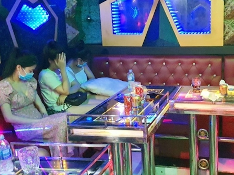 Thu giấy phép quán karaoke có 11 người dương tính với ma túy - ảnh 1