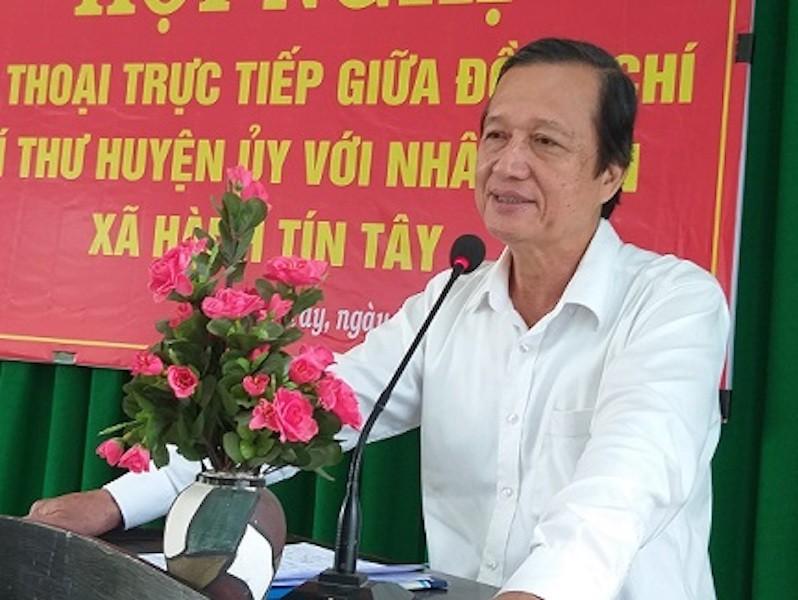 Nguyên bí thư huyện ủy ở Quảng Ngãi dính sai phạm - ảnh 1