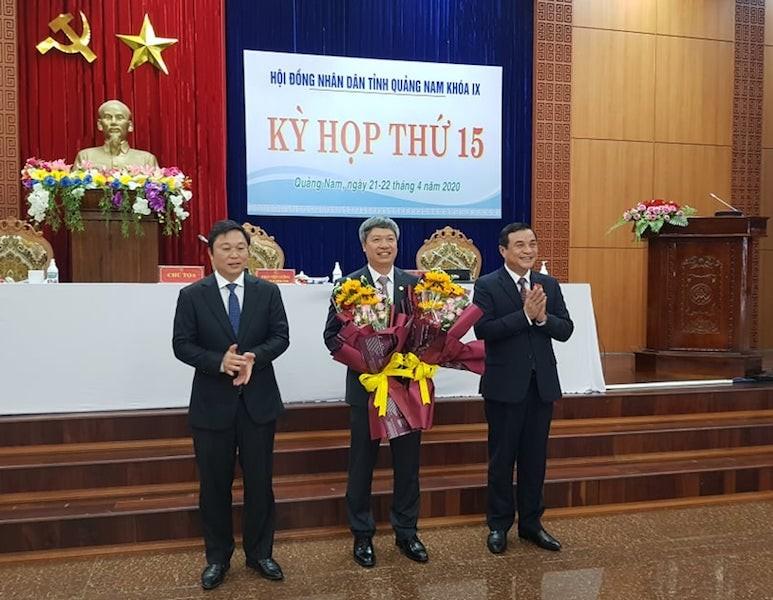 Quảng Nam có tân phó chủ tịch tỉnh - ảnh 1