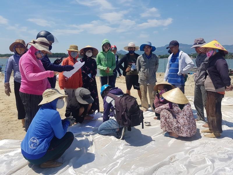 Quảng Nam: Người dân vây dự án lấp vịnh An Hoà - ảnh 3