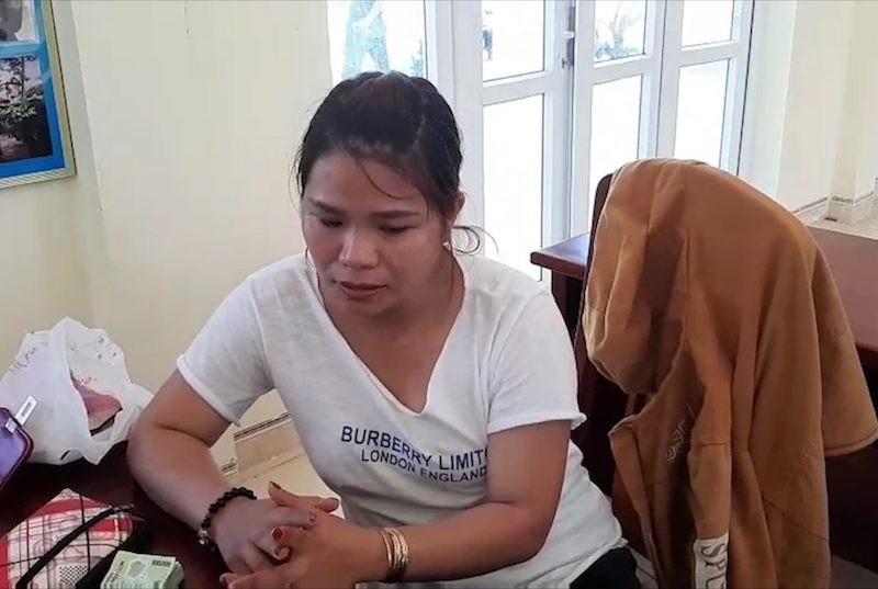 1 phụ nữ dùng tiền giả mua hàng ở chợ Tam Thanh - ảnh 1