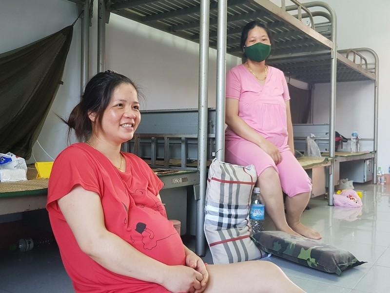 Bà bầu về từ Đài Loan đang cách ly hạ sinh bé gái nặng 3kg - ảnh 2