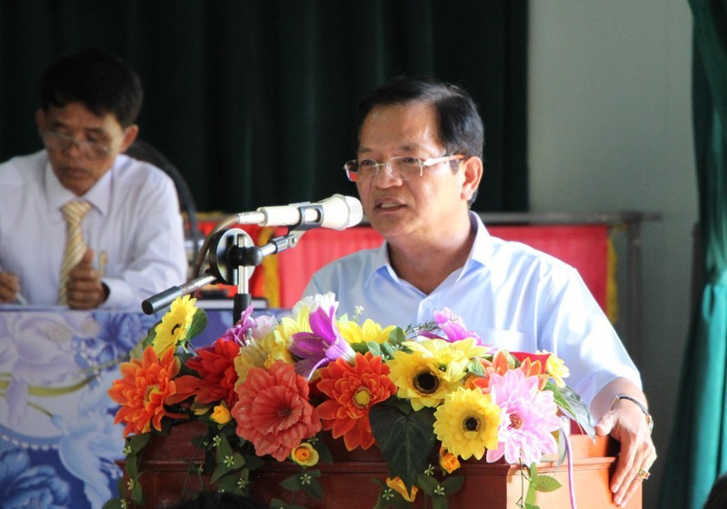 Bí thư Quảng Ngãi không phát biểu chỉ đạo đại hội ở huyện - ảnh 2