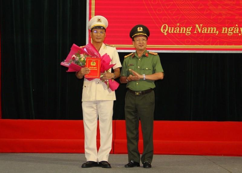 Quảng Nam có thêm phó Giám đốc Công an tỉnh - ảnh 1