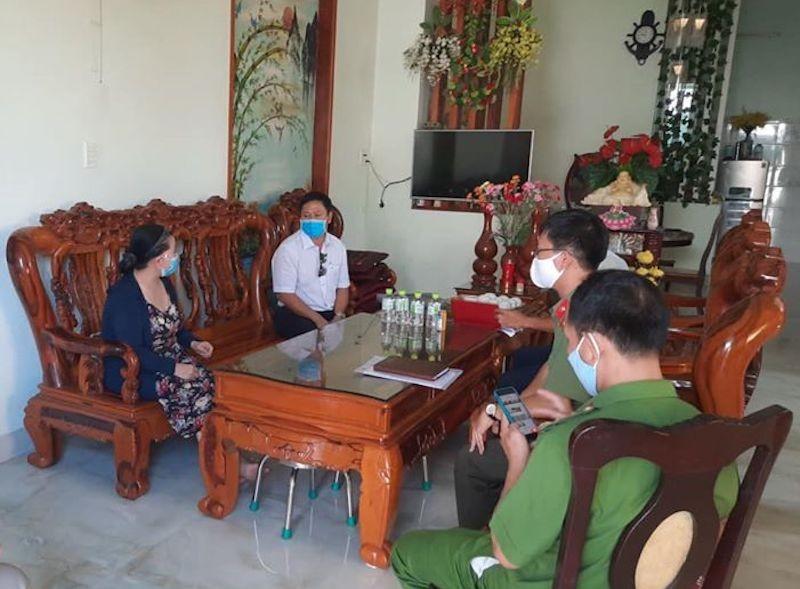 Thông báo liên quan bệnh nhân 419 đi xe Đà Nẵng-Quảng Ngãi - ảnh 1