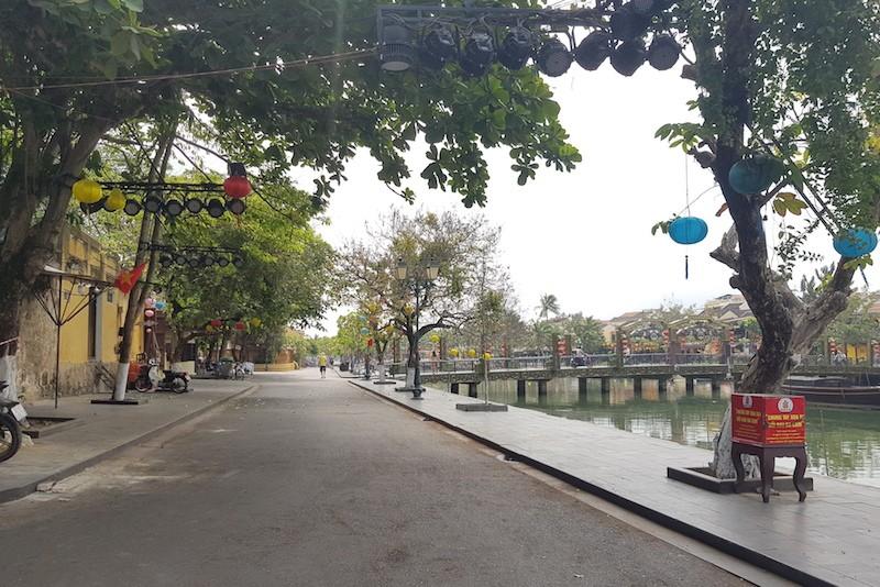 Quảng Nam: Thực hiện giãn cách xã hội tại TP Hội An - ảnh 1