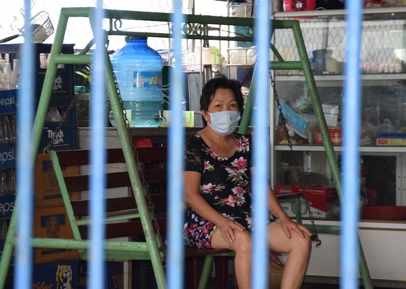 Bên trong khu phong tỏa có 7 người nhiễm COVID-19 ở Quảng Nam - ảnh 8