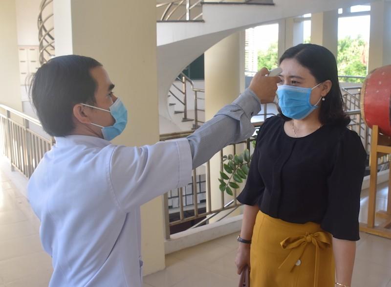 45% thí sinh Quảng Nam được thi THTP đợt 1 do dịch COVID-19 - ảnh 2