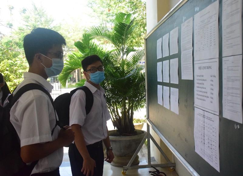 45% thí sinh Quảng Nam được thi THTP đợt 1 do dịch COVID-19 - ảnh 4