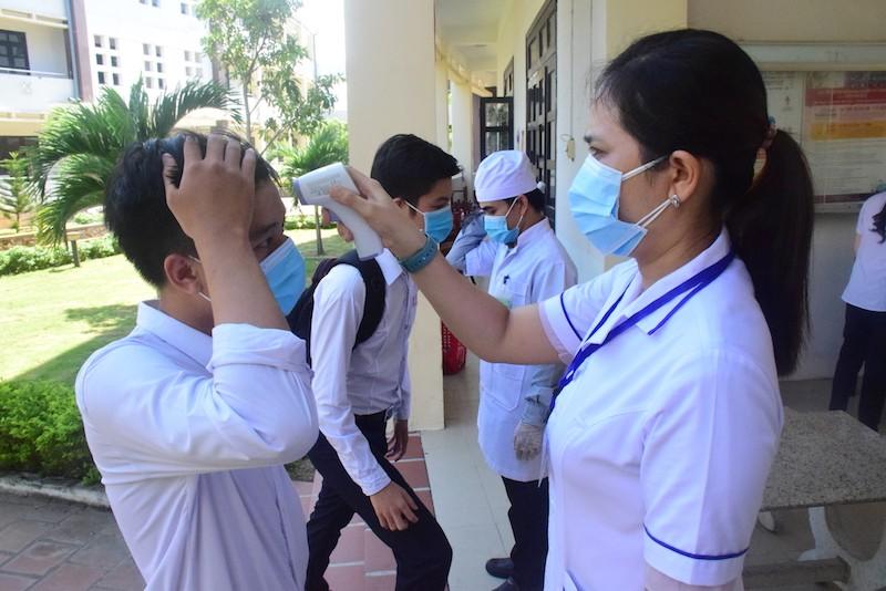 45% thí sinh Quảng Nam được thi THTP đợt 1 do dịch COVID-19 - ảnh 3